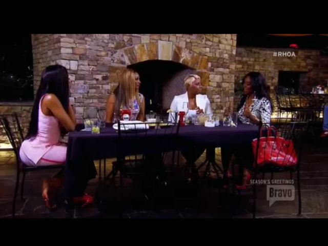 Porsha, Nene, Cynthia and Kenya make up