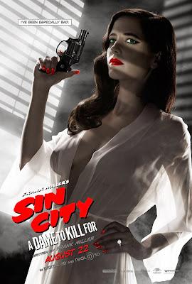 Eva Green Sin City J'ai Tué pour Elle poster