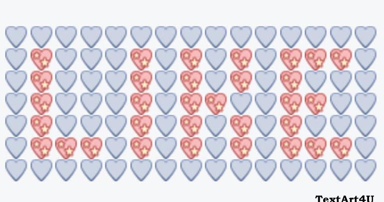 Big Like Emoji Text Art Copy Paste Code | Cool ASCII Text ... Symbols Copy And Paste Cute