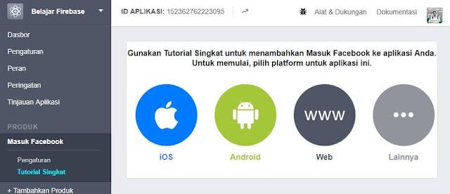 Tutorial Singkat untuk menambahkan Masuk Facebook ke Aplikasi