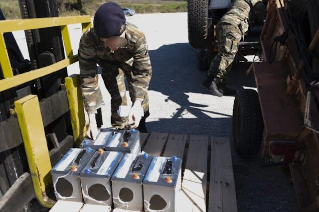 Έβρος: Τι υλικά δώρισαν στον Ελληνικό Στρατό οι Ρεπουμπλικανοί Ελλάδας