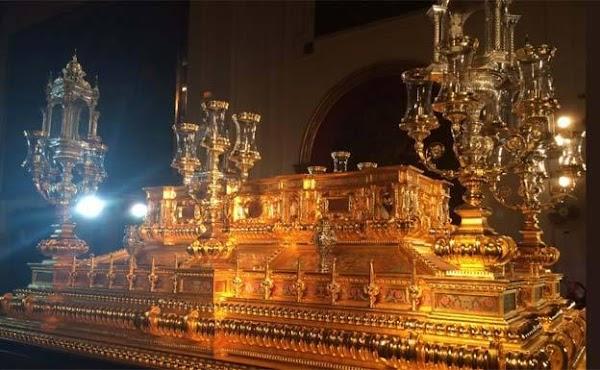 Un trono manierista para el Resucitado de Málaga
