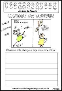 Charge dengue e jogos olimpicos