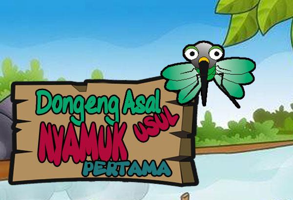 kisah cerita tentang nyamuk pertama kali