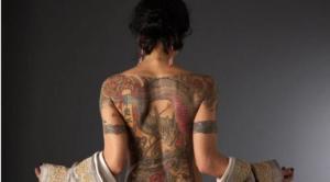 tato seksi wanita yakuza