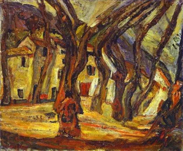 Paisagem - Chaïm Soutine e seu expressionismo violento e atormentado