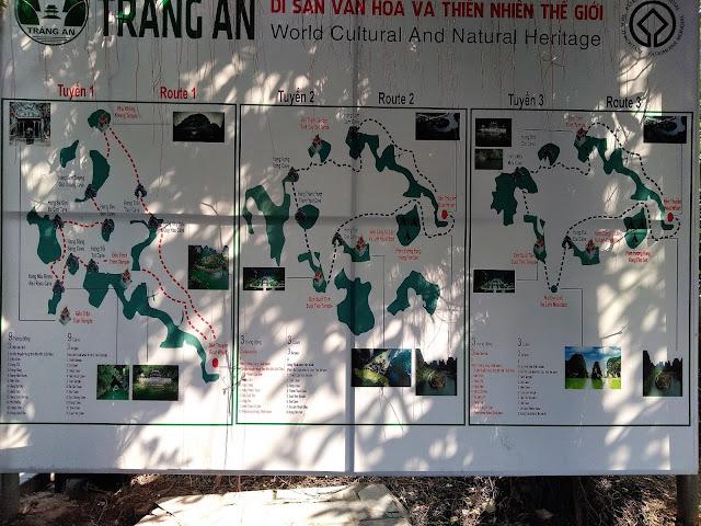 trang an tour maps ninh binh vietnam