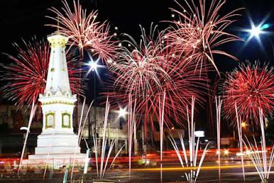 Tahun baru di yogyakarta