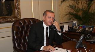 Erdoğan'dan Moduro  telefon