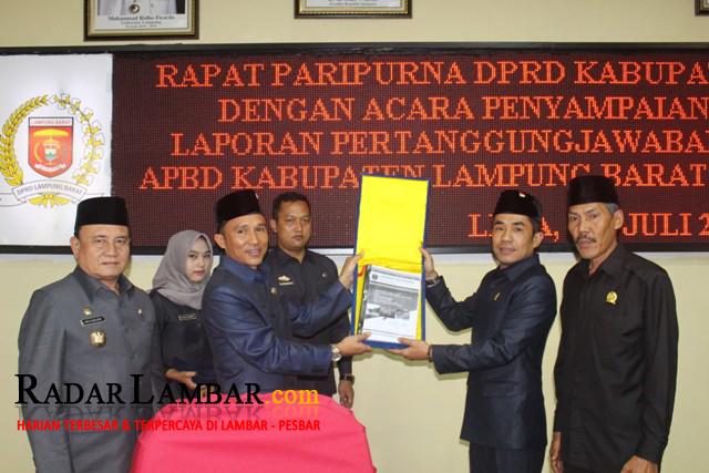 Laju Pertumbuhan Ekonomi Lampung Barat Melambat 0,31%