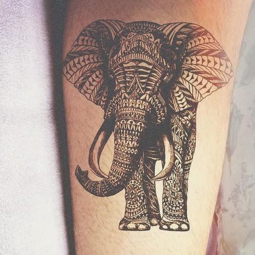 Elephant Tattoo Design Idea Images Photos