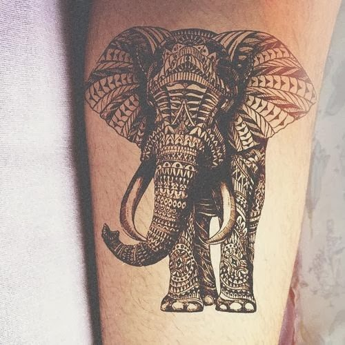 Elephant Tattoo Ideas: Elephant Tattoo Design Idea Images Photos