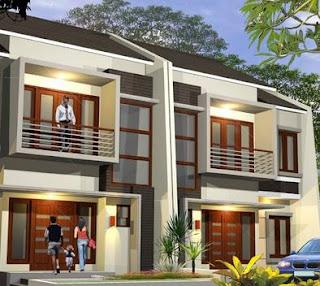 Contoh Denah Rumah Minimalis 2 Lantai Terbaru