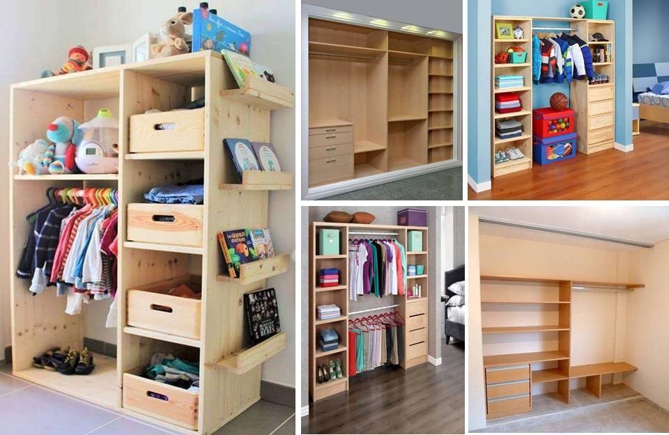 Ideas Of Cheap Closets You Can Implement In Your Home