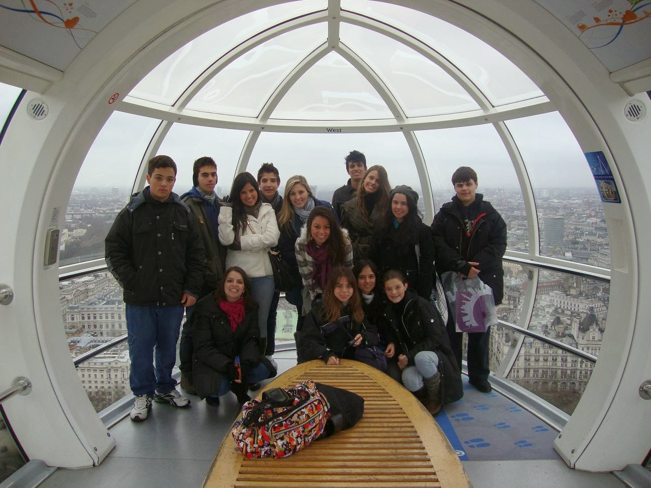 Roda Gigante London Eye em Londres - Inglaterra