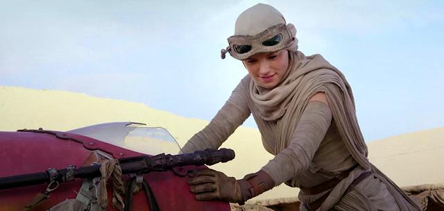 Rey (Daisy Ridley), pozează pentru revista Vanity Fair