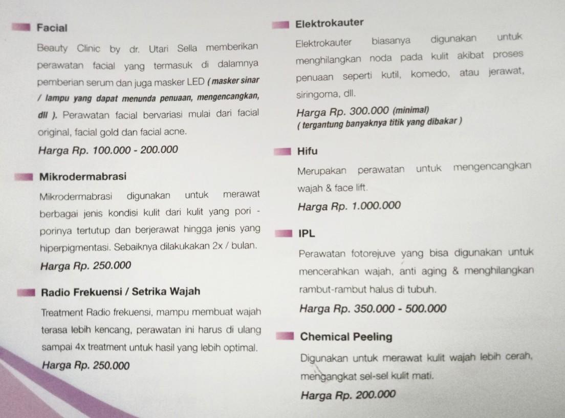 Harga perawatan di klinik dr Utari Stella fa3b9d2e17