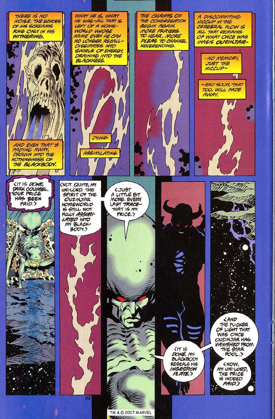 Silver Surfer (1987) Issue #112 #120 - English 24