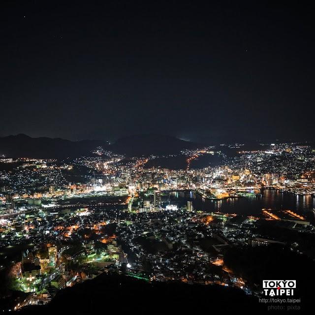 【稻佐山公園】璀璨的山城與港灣 搭纜車看世界新三大夜景