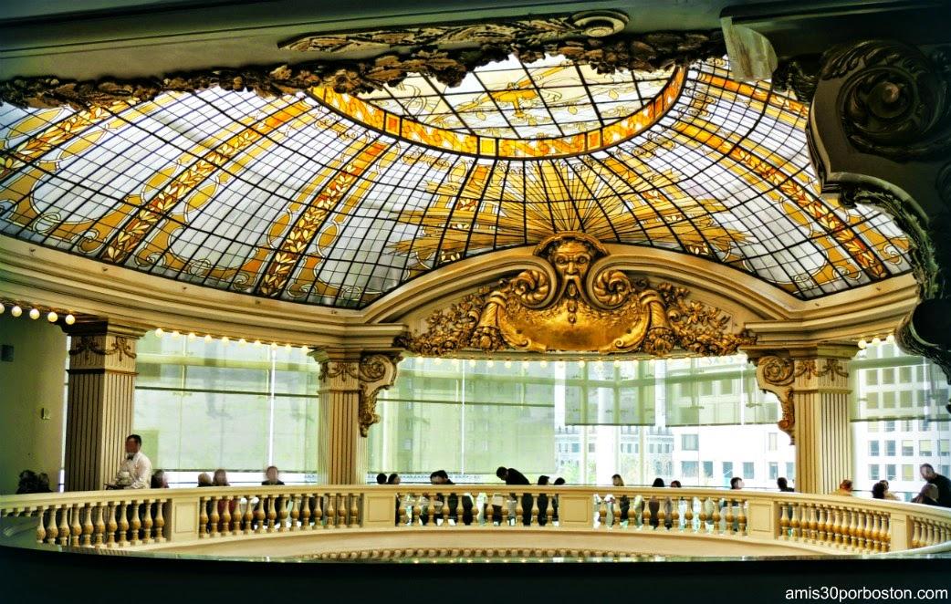 Cúpula en el Restaurante The Rotunda de Neiman Marcus