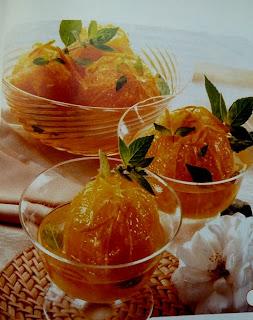 мятные апельсинки