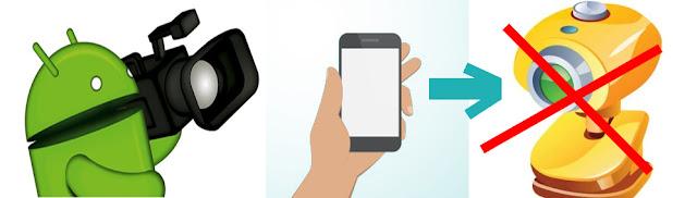 android telefonu bilgisayar kamerası olarak kullanmak
