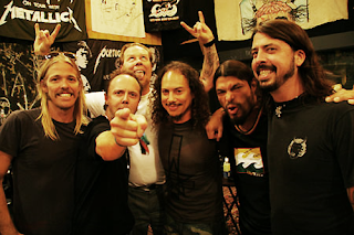 Metallica y Dave Grohl