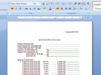 Download Lampiran Formulir BOS K7b Gratis