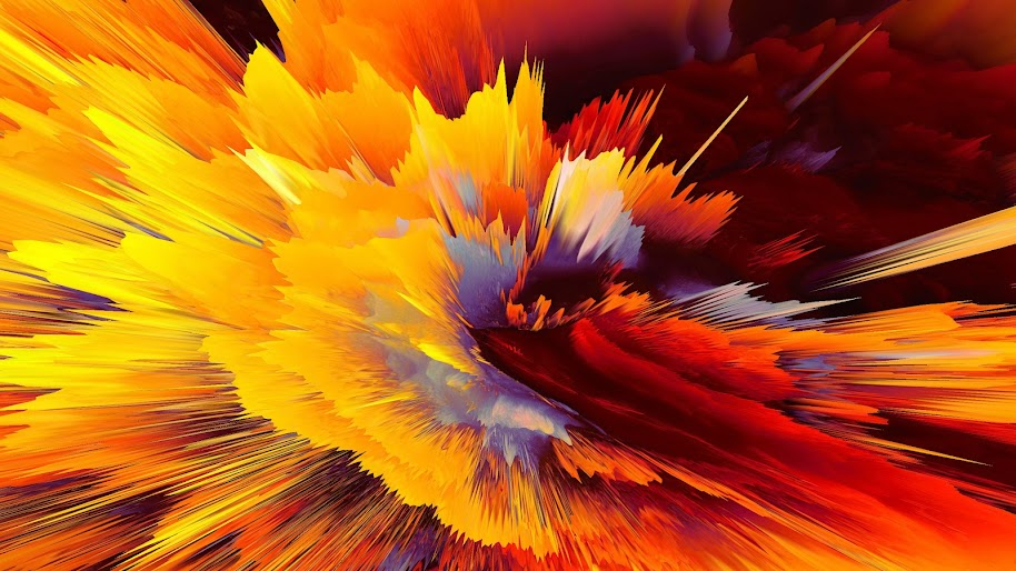 Abstract, Colorful, Explosion, 4K, 3840x2160, #30 Wallpaper