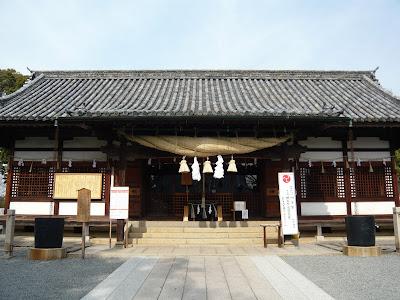 阿智神社拝殿