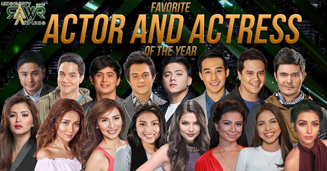 VOTE: Favorite Actor and Actress of the Year