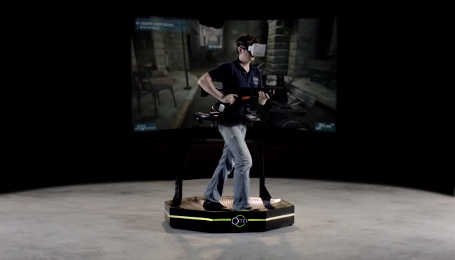 Virtuix Omni e Playstation VR