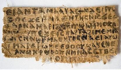 χρονολογημένα χειρόγραφα της Καινής Διαθήκης να βγαίνω με έναν αναξιόπιστη άντρα