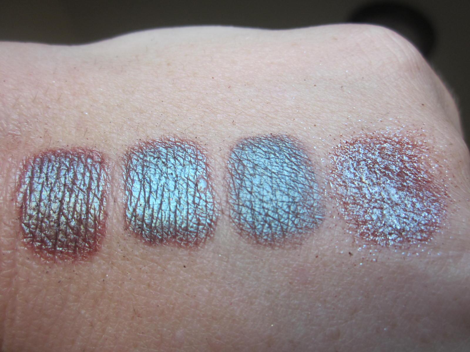 Silver glitter eyeshadow mac