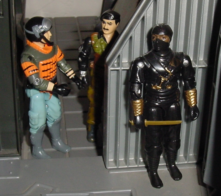 European Exclusive Tiger Force Sneek Peek, Ninja Ku, Ninja Black, Stormshadow, Argentina, Plastirama, Mission to Brazil Dial Tone, 1986, G.I. Joe HQ