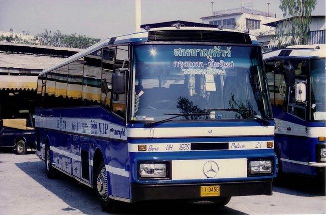 Thailand - Chiang Mai 1989 Mercedes-Benz OH1625