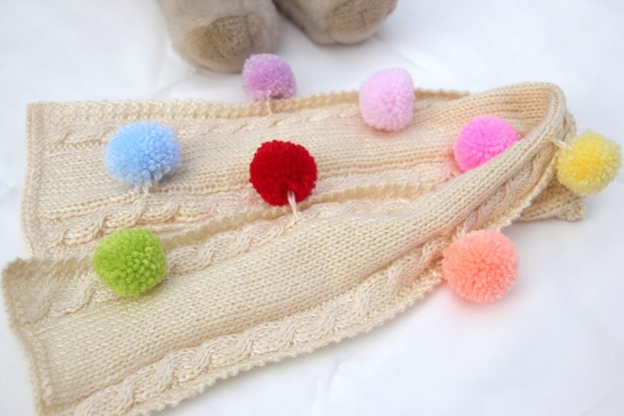 DIY Como hacer una bufanda para niños de 2 o 3 años