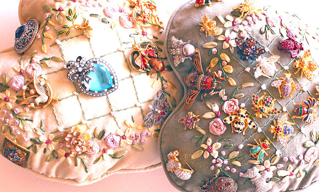 Joan Rivers Bee and Victorian Pins Collection