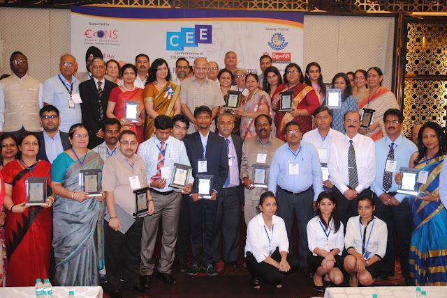 Last Year Awardess with Mrs. Manish Sisodia-