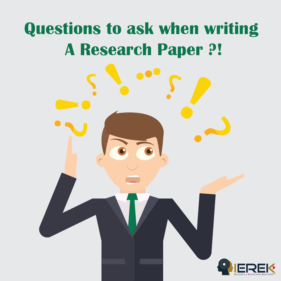 Any suggestions for research paper?