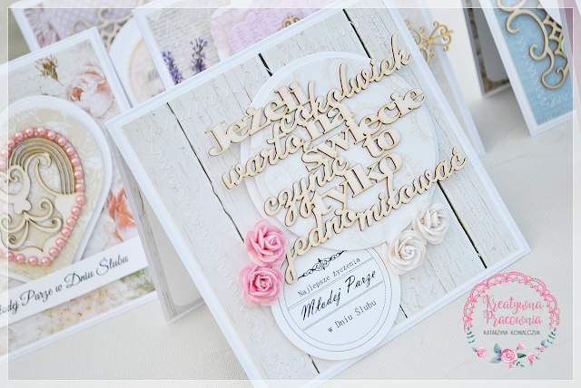 eleganckie kartki ślubne