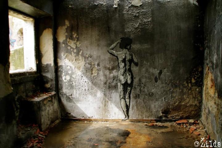 Zilda. Рисунки на стенах