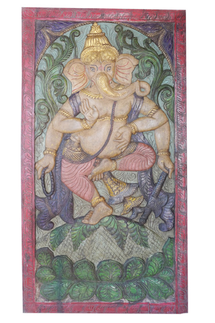https://www.mogulinterior.com/vintage-bohemian-ganesha-barn-door-carved-ganesha-wall-panel.html