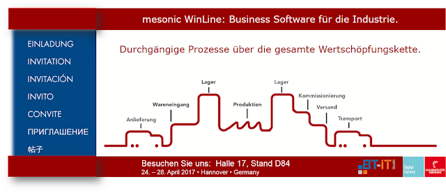 BT-IT GmbH - Hannover Messe - ERP und Industrie 4.0 - Ralf Ebken