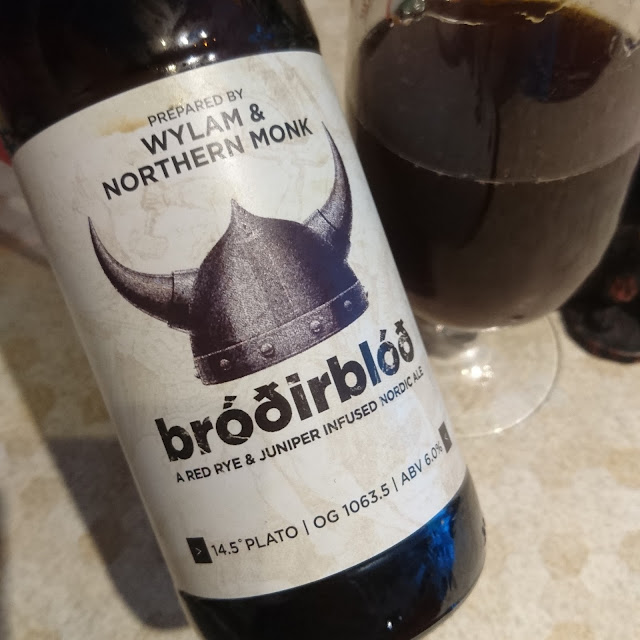 Northumberland Craft Beer Review: Brodirblod from Wylam and Northern Monk