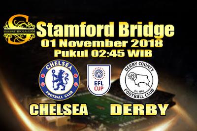 Judi Bola Dan Casino Online - Prediksi Pertandingan Piala Liga Inggris Chelsea Vs Derby 01 November 2018