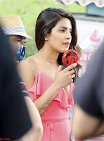 Priyanka Chopra in a Deep neck Red Gown on the Set of Isnt It Romantic ~  Exclusive Celebrities Galleries 011.jpg