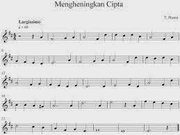 lirik lagu mengheningkan cipta