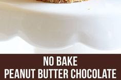 No Bake Mini Peanut Butter Cheesecakes