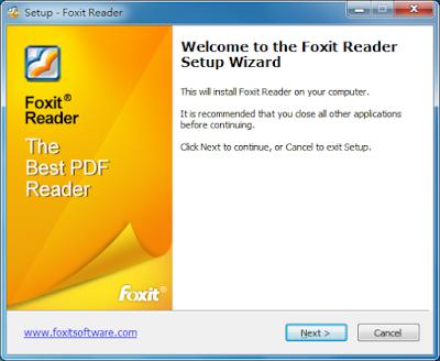 Foxit reader 繁體中文版下載 免費PDF閱覽工具